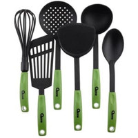 010Qq Kitchen Tools Nylon Spatula Oxone OX-953 (HIJAU)