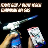 Kepala Gas Portable / Las Fire Blow Torch / Flame Gun Tembakan Api Gas