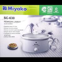 Preloved Miyako Slow Cooker 6 Liter SC-630 - KONDISI MULUS LIKE NEW