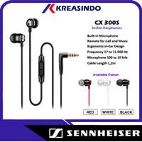 Sennheiser CX300S / CX 300S / CX 300 S Headset Earphone Garansi Resmi