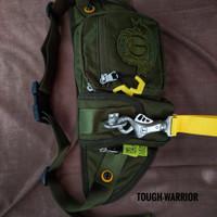 Tas Selempang Pria Tough Warrior Kanvas