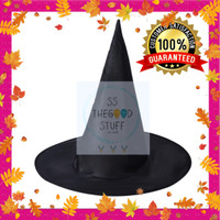 Topi Nenek Sihir Witch Hat Party Halloween