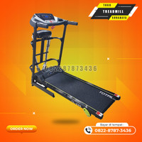 alat gym Treadmill ELectric 3fungsi motor 1,5hp total gym TL246