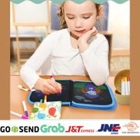 Mainan Edukasi Anak 4 Tahun Perempuan Buku Gambar Unicorn Kuning
