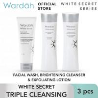Wardah White Secret Triple Cleansing