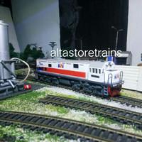 miniatur kereta api cc201 new Logo