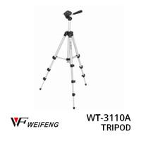 Weifeng Tripod Stand 4-Section Aluminium with Brace- WT-3110A Original