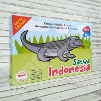 Flashcard Hewan EduFun Satwa Indonesia - Puzzle Edukasi Kartu Pintar