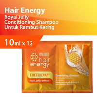 Makarizo Hair Energy Fibertherapy Shampoo Royal Jelly 240x10ml (1Dus)