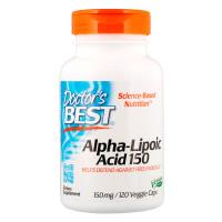 Doctor's Best Doctors Alpha-Lipoic Acid 150 mg 150mg 120 Veggie Caps