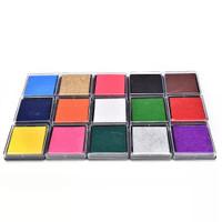 Bak Tinta Cap Stempel Warna Warni, Stamp Pad, Craft Inkpad Scrapbook 1