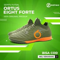 Sepatu Futsal Ortuseight Forte Valkyrie IN - Military Green/Ortrange