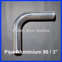 """Pipa Turbo Intercooler Aluminium 90 / 3"""""""