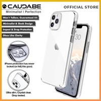 Original Caudabe Lucid Clear Case iPhone 11 Pro Max 11 Pro 11 Casing - iPhone 11, Clear