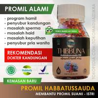 PROMIL HABBATS Habbatussauda Oil Soft Capsule Program Hamil - REKOMENDASI 200