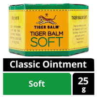 Tiger Balm Soft 25 gr Import Singapore Classic Ointment Balsem