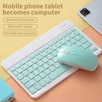Wireless Bluetooth Keyboard Mouse Set Lightweight Portable For iPad Ph