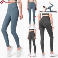 Celana Legging Panjang Wanita Model High Waist Ketat untuk Fitness - BABY BLUE, XL