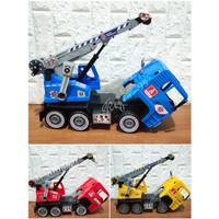 Mainan Anak Truk Crane / Truk Konstruksi