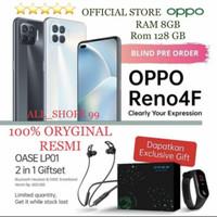 Oppo reno 4f 8/128 new free gift oase