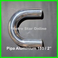 """Pipa Turbo Intercooler Aluminium 180 / 2"""""""