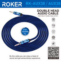 KABEL AUX ROKER 1,8M RK-AUX38 AUDIO KABEL MALE TO MALE