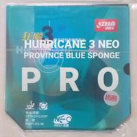 Karet DHS Hurricane 3 NEO Province Blue Sponge PRO