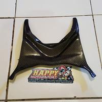 Part Carbon Kevlar Cover Bawah Jok Seat Barrier Kawasaki ZX25R