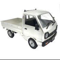 Wpl D12 Suzuki Carry Pick up drift RTR full propo rc car skala 1:10 - Silver