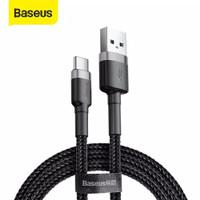 BASEUS Kabel Data / Charger USB Tipe C 3A Fast Charging 1M - Hitam
