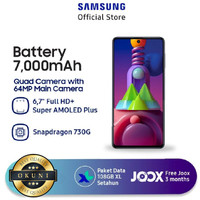 Samsung galaxy m51 8/128 GB Garansi Resmi Samsung