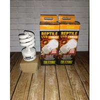 Uvb150 13 watt exoterra/lampu reptile/ lampu pengganti matahari