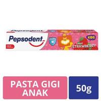 Pasta Gigi Pepsodent anak strawberry
