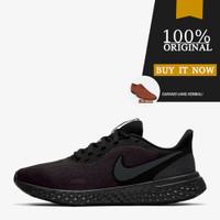 BQ3207-001 Sepatu Running Sepatu Nike Revolution 5 - Black/Anthracite