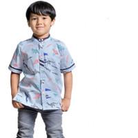 Kemeja Koko | kemko anak branded (1-10th) lengan pendek - XS