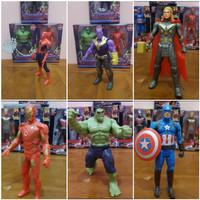 Mainan Action Figure Marvels - Mainan Action Figure Hulk Ironman