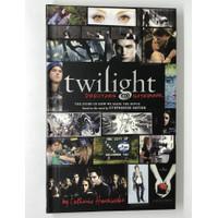 Twilight saga directors notebook bahasa inggris novel majalah vampire