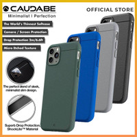 Original Caudabe Sheath Case iPhone 11 Pro Max / 11 Pro / 11 - Casing - iPhone 11 Pro, Black