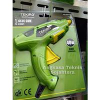 TEKIRO Glue gun / lem tembak 1set listrik 40 watt