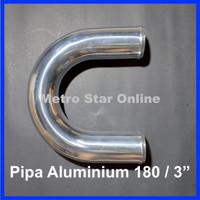 """Pipa Turbo Intercooler Aluminium 180 / 3"""""""
