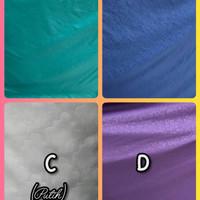 Bedcover set kain king koil 180x200x30