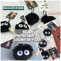 Ready spirited away susuwatari plush boneka totoro soot plush