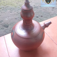 KENDI GERABAH TANAH LIAT 3 L / KENDI AIR 20 CM