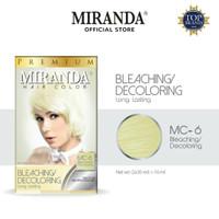 Miranda Permanent Hair Color Semir Rambut MC-6 - Bleaching