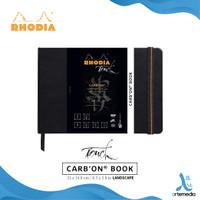 Buku Sketsa Rhodia Touch A5 CarbOn Black Paper Sketchbook