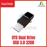 Sandisk OTG Dual Drive 32GB 64GB USB 3.0 Flash Disk / FlashDisk 32 GB