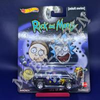 Hot Wheels Premium Rick and Morty Super Van Black