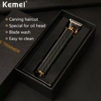 hair clipper kemei trimmer alat cukur rambut Kemei tanpa kabel charge