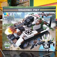 3029 - IN BOX 256PCS LEOPARD 2 MAIN BATTLE TANK LEGO KW BRICK 4001608