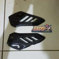 Part Carbon Kevlar Cover Footstep Heel Guard Kawasaki ZX25R